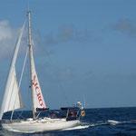 Navegando a los Tobago Cays