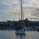 Saliendo de Las Palmas