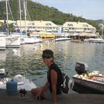 Port La Royale, en Marigot