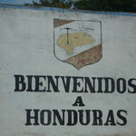 Entramos en Honduras