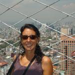 Desde la Torre se puede contemplar la inmensidad de la ciudad