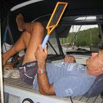 La raqueta eléctrica matamosquitos, menudo invento...