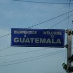 Llegamos a Guatemala