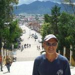 Vistas de la ciudad desde la escalinata de la Iglesia de Guadalupe