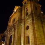 La Catedral iluminada