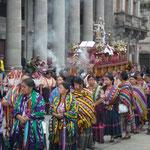 Xela, procesión del 15 de agosto