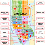 Los barrios de Manhattan