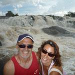 Nosotros en las cascadas