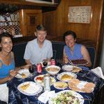 Cenita a la española con Björn y Josefine