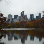Midtown desde el Central Park