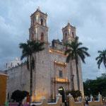 Iglesia de San Gervasio iluminada