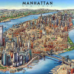 Dibujo de Manhattan