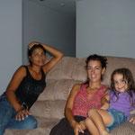 Con Tania y Marisol en Panamá City
