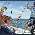 Navegando en el Olaje