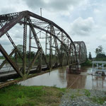 El puente que une Panamá con Costa Rica