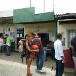 Haciendo cola en migración panameña