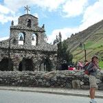 Capilla de piedra en San Rafael de Mucuchíes