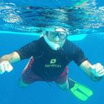 Jose bajo el agua