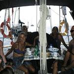 Reunión de españoles en el Cap's
