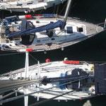 El Cap's III y el Bahía las Islas desde el aire
