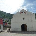 Iglesia colonial de Santa Catarina Palopó