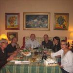 Lola nos invitó para su santo en su casa de Almería