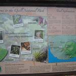 Plano del Parque Natural del Volcán