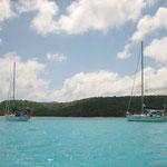 El Cap's y el Bahía en la cara norte de Prickly Pear Island