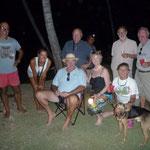 Barbacoa en Cayo Holandeses