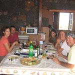 Barbacoa en casa de Hernán y Montse