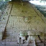 La Escalinata Jeroglífica en el Templo 26