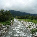 La región de Boquete es muy rica en vegetación que se embellece entre los abundantes ríos