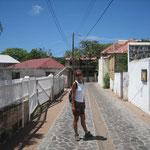 Caminando por el pueblo