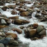 Los ríos y afluentes abundan por doquier en toda la zona