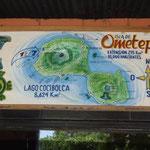 Mapa de Isla de Omepete