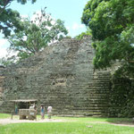 El Templo 16 en el Patio Occidental de la Acrópolis