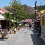 La calle principal de Les Saintes