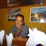 En el restaurant de Xela
