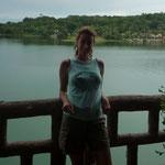 El Lago Petén desde el hotel