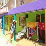 Bonitos colores en las fachadas