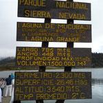 Laguna de Mucubají, a más de 3.000 m de altura