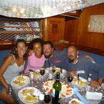 Cena en el Cap's con el Brigante