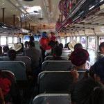 Autobús de Sololá a Panajachel