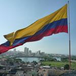 Cartagena desde arriba, la bandera también protagonista