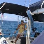 Navegando hacia Savannah Bay