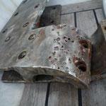 Los herrajes con corrosión