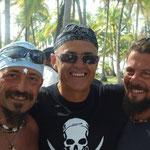 Gaetano, Jose y David