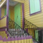 Las casas coloridas de la capital