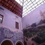 Decoración de los interiores del Pasaje Picheta