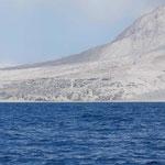 La capital de Montserrat destruida por una erupción del volcán